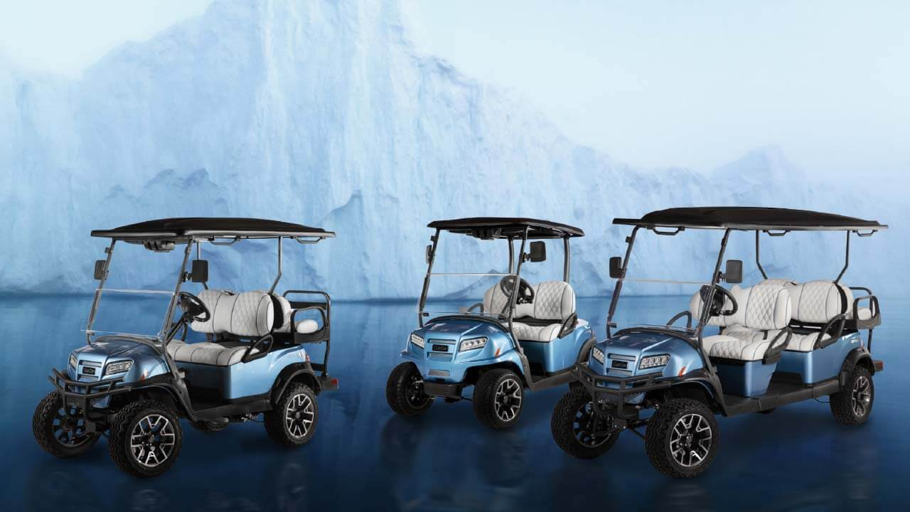 Onward Ice Storm 3 models page header 1280x720 - Club Car Onward - Ice Storm Special Edition